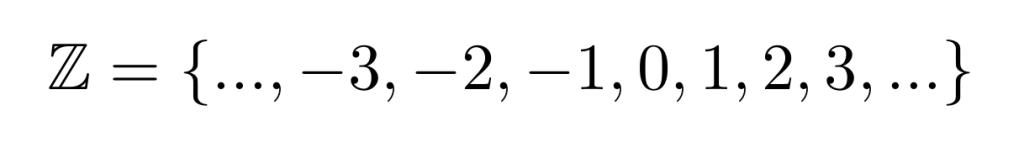 El conjunto de los números enteros | totumat.com