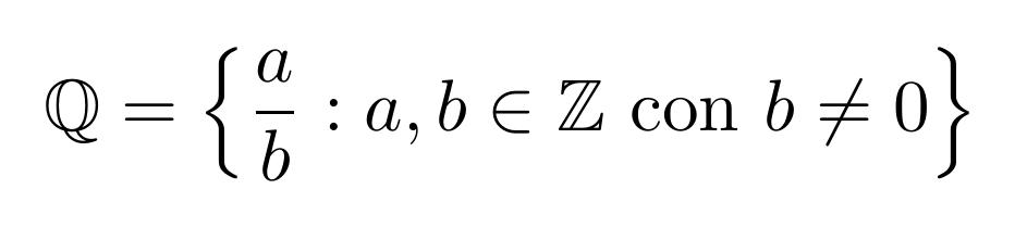 El conjunto de los números racionales | totumat.com