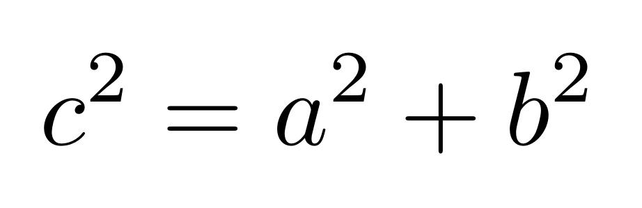 Teorema de Pitágoras | totumat.com