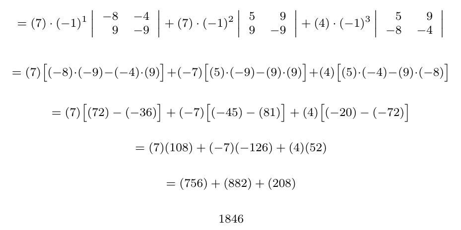 Cálculo de Matriz Inversa - Regla Cramer | totumat.com