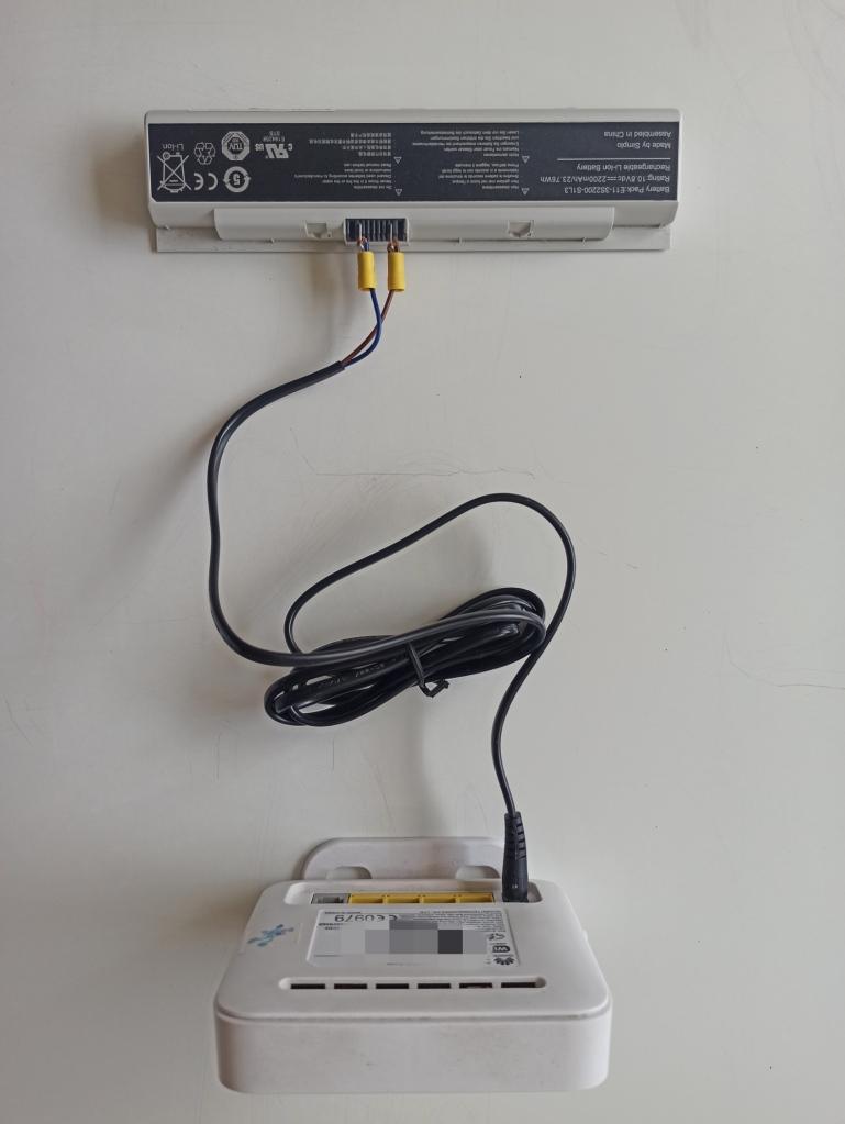 Conexión de batería de canaima a módem de CANTV | totumat.com
