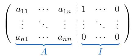 Cálculo de Matriz Inversa Gauss-Jordan | totumat.com