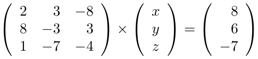 Sistemas de Ecuaciones Lineales - Gauss-Jordan | totumat.com
