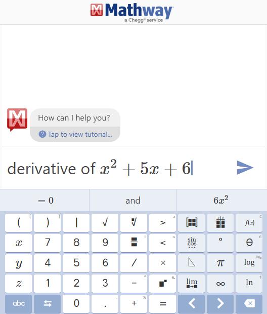 Mathway | totumat.com review