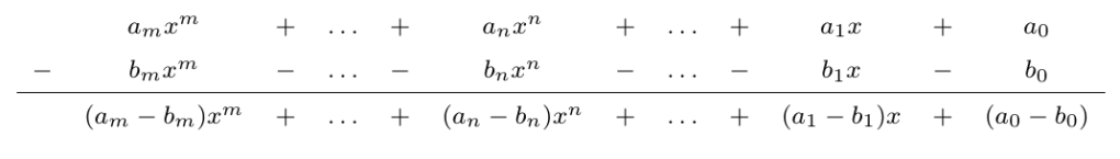 Suma de Polinomios | totumat.com