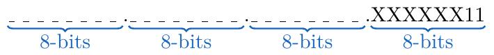 Dirección IP cadenas de ocho bits método de la suma | totumat.com